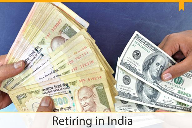 retiring in india
